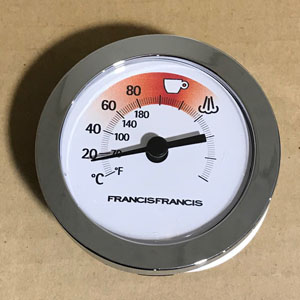 FrancisFrancis X6 Temperature Gauge